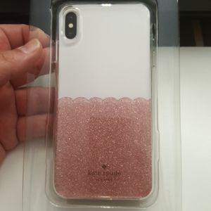 """Case kate spade for iphone xs max 6.5"""" goldrose"""